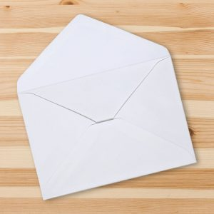 4x5 Envelopes – White