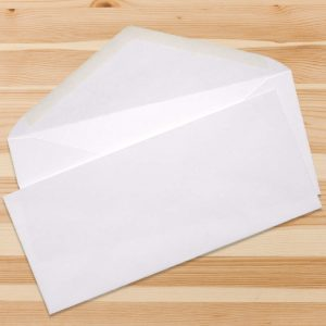 No 10 Envelopes – White