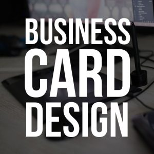 Business Card Design + 100 Free Business Cards