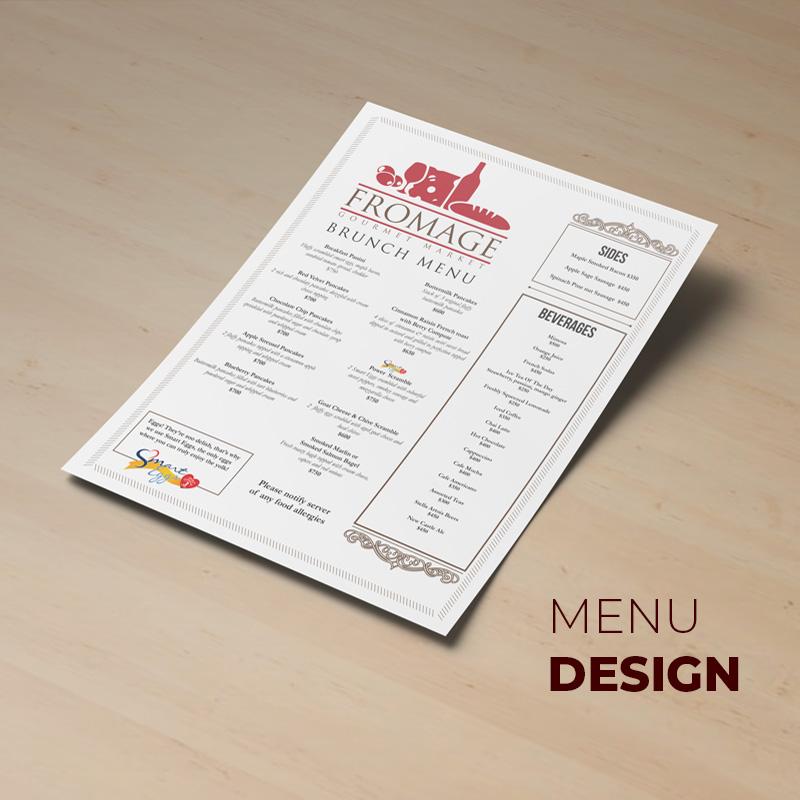 fromage-main-menu-design