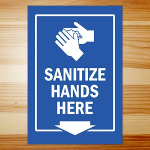 Covid-19 Sanitize Hands