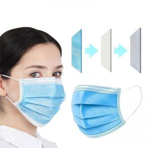 Disposable Face Masks (50 Pack)