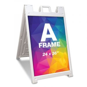 Sidewalk Sign (A-Frame)
